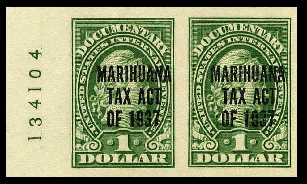 Marijuana Revenue Stamp