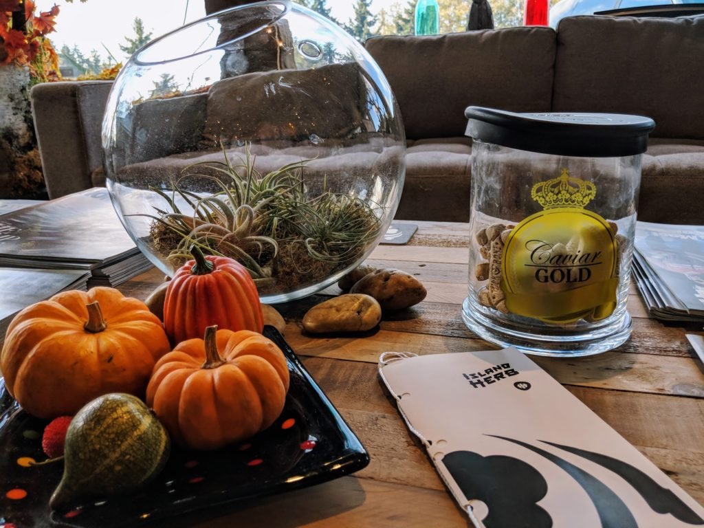 whidbey Island's best cannabis dispensary wishes you a happy thanksgiving